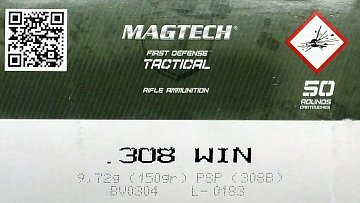 Náboj Magtech .308 Win. SP 150gr 50ks - 1