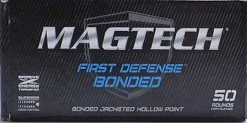 Náboj MAGTECH 9mm Luger JHP FD (9BONA) 8,03g 50ks
