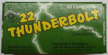 Náboj Remington .22 LR HV Thunderbolt 50 ks