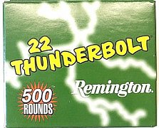 Náboj Remington .22 LR Thunderbolt 500 ks