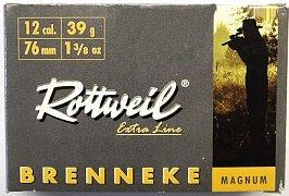 Náboj ROTTWEIL 12x76 Brenneke Magnum 39g  5 ks
