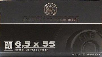 Náboj RWS 6,5x55 EVO  10,1g/20ks - 1