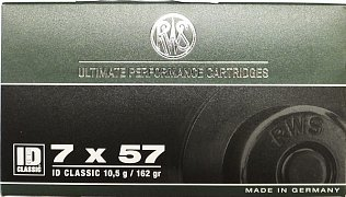 Náboj RWS 7x57 ID Classic 10,5g 20 ks