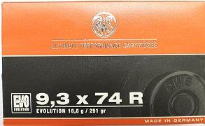 Náboj RWS 9,3x74R EVO 18,8g 20 ks