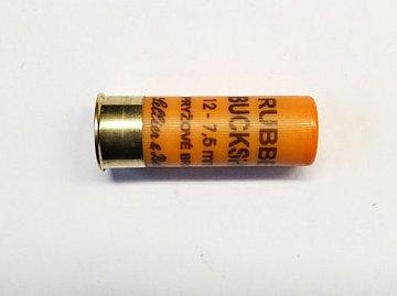 Náboj S&B 12x67,5 Rubber Buck Shot 25 ks - 2