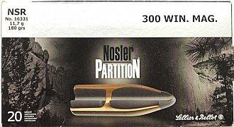 Náboj S&B .300 Win. Mag. NSR 11,7g 20 ks