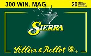 Náboj S&B 300 Win. Mag. Sierra 20 ks