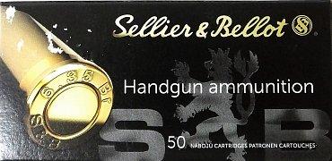 Náboj S&B 6,35 Browning/.25 Auto 50 ks