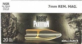 Náboj S&B 7mm Rem. Mag. NSR 11,35g 20 ks