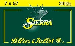 Náboj S&B 7x57 Sierra 20 ks
