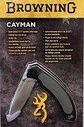 Nůž Browning Cayman