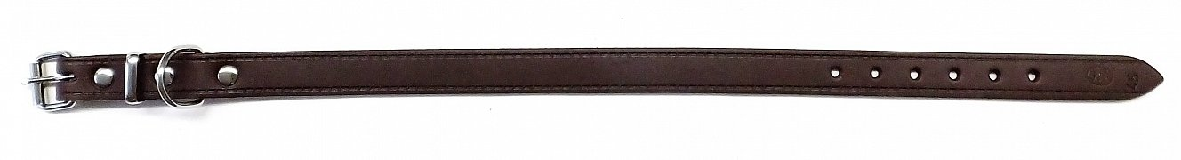 Obojek B&F GRAZL 14103 hnědý 45cm
