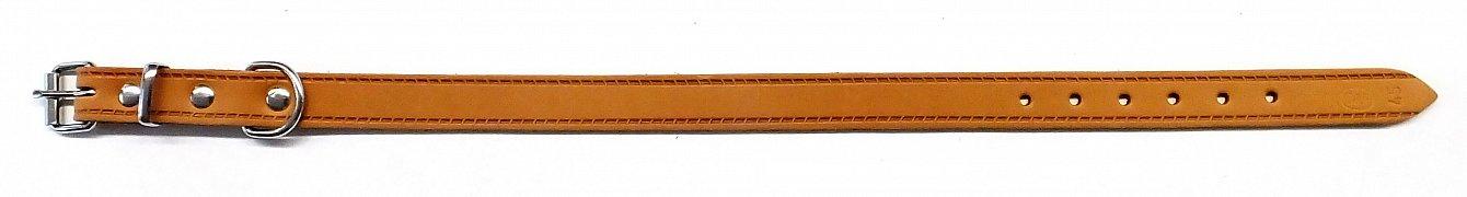 Obojek B&F GRAZL 14103 koňak 45cm