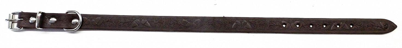 Obojek B&F GRAZL 14103V hnědý 45cm