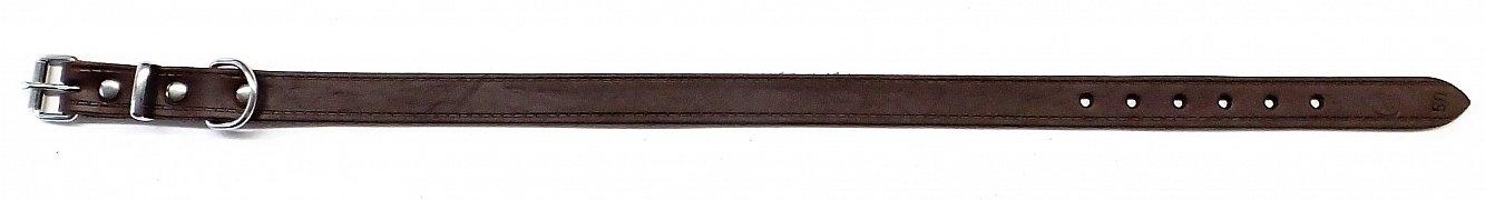 Obojek B&F GRAZL 14104 hnědý 50cm