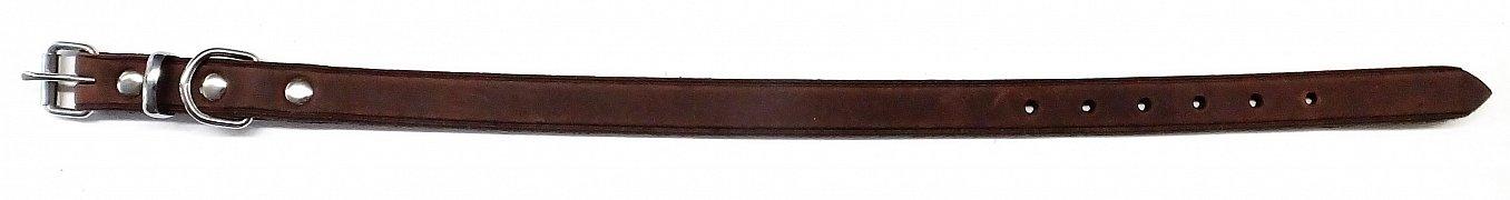 Obojek B&F ZUBR 14102Z hnědý 40cm