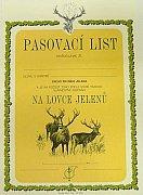 Pasovací list lovce jelenů
