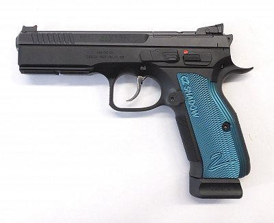 Pistole CZ Shadow 2 OR (modrá) r. 9mm Luger
