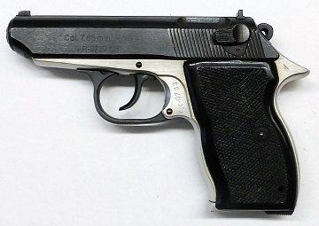 Pistole samonabíjecí Belgie model 74 r. 7,65 Br. - 1