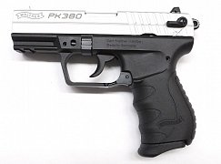 Pistole Walther PK380 Nikl r. 9mm Browning