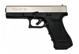 Plynová pistole BRUNI GAP nikl cal. 9mm
