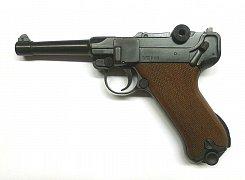 Plynová pistole CUNO MELCHER Parabellum Luger P08 černá cal. 9mm