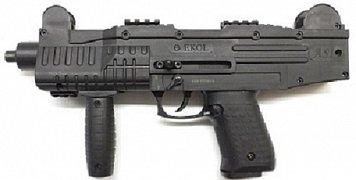 Plynová pistole EKOL ASI černá