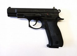 Plynová pistole Kimar CZ 75 černá cal. 9mm