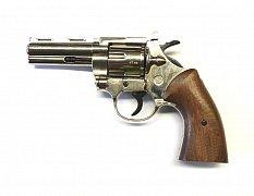 Plynový revolver Bruni Magnum 380 Python nikl cal. 9mm