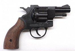 Plynový revolver BRUNI OLYMPIC dřevo cal. 6mm