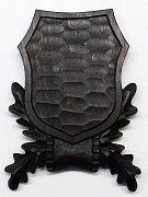 Podložka pod trofej srnec, šelma č. 105 tmavá