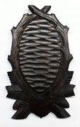 Podložka pod trofej srnec, šelma č. 125  tmavá