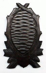 Podložka pod trofej srnec, šelma č. 125  tmavá - 1