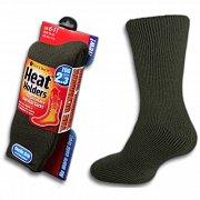 Ponožky Heat Holders Thermo pánské HH04 zelené