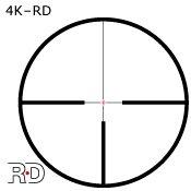 Puškohled Meostar R2 2,5-15x56 RD kříž 4K - 4