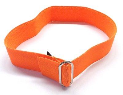 Reflexní páska na klobouk bez reflexního pruhu  oranžová