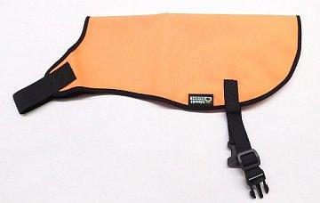 Reflexní vesta pro psy bez reflexního pruhu vel. L oranžová - 1