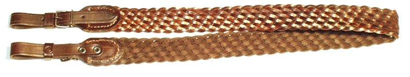 Řemen na zbraň Zubíček pletený 4 cm