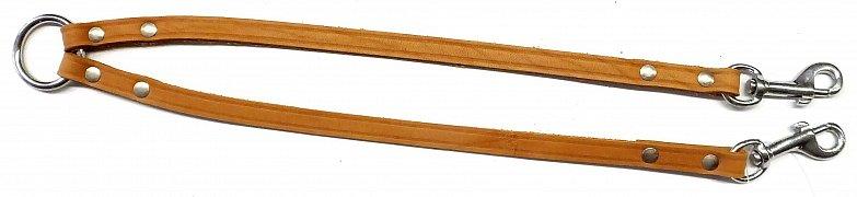 Rozdvojka B&F TRINA koňak 10mm/30cm