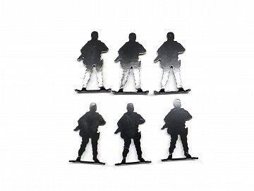 Terč RAVEN kovoví vojáci 6ks - 1