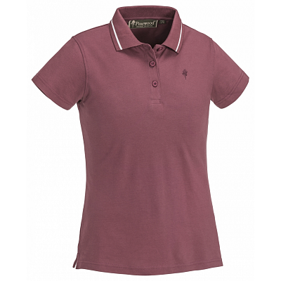 Triko Pinewood Polo Outdoor Life 3318 Rose dámské vel. XL