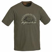 Triko PINEWOOD Wildboar zelené 5422 vel. S
