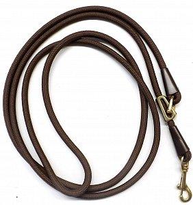 Vodítko B&F zkracovací lano 15789 hnědé - 1