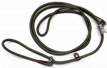Vodítko B&F zkracovací lano 15792 khaki  - 1