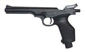Vzduchová pistole LOV 21 4,5 mm na bombičky 12g
