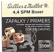Zápalky S&B 4,4 SPM Boxer 100 ks