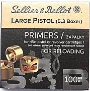 Zápalky S&B 5,3 LP Boxer 100 ks